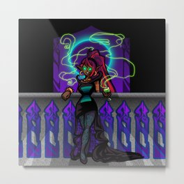 Crystal Witch Metal Print