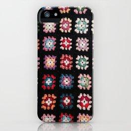 Vintage Granny Squares iPhone Case