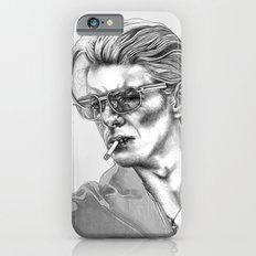 Black and White Bowie iPhone 6s Slim Case