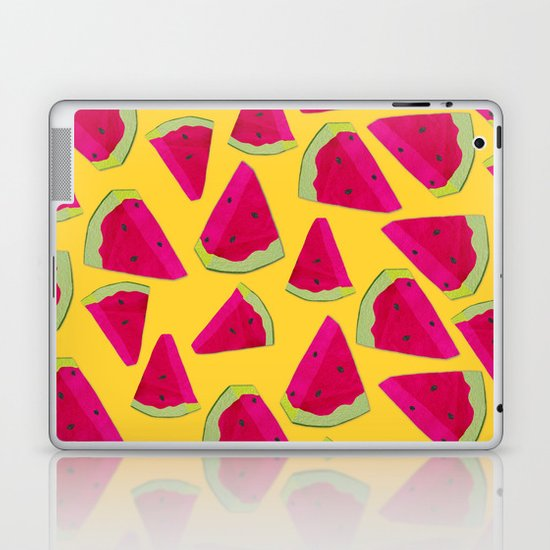 watermelon love Laptop & iPad Skin