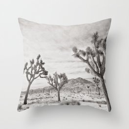 Joshua Tree Park by CREYES Throw Pillow