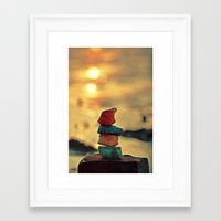 zen Framed Art Prints featuring Zen by teddynash