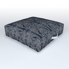 The Grand Salon, Midnight Outdoor Floor Cushion