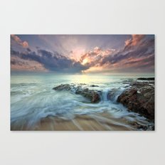 Swept Canvas Print