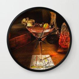 Catacomb Culture - Halloween Martini Wall Clock