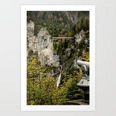 Marienbrücke Art Print