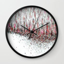 Matter Disruption Wall Clock