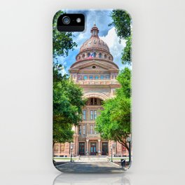 Texas State Capital iPhone Case