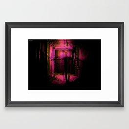 A Lost Friend Framed Art Print