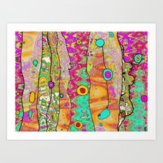 Layers of Whimsy Art Print
