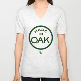 Made in OAK - Oakland A's Unisex V-Neck