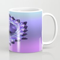 shield Mugs featuring Purple Shield by Awesome Palette