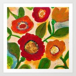 park flower3 Art Print