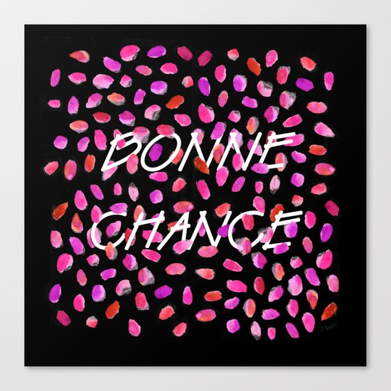 Bonne Chance Canvas Print