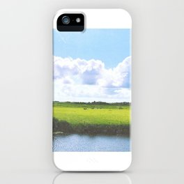 Dutch country view iPhone Case