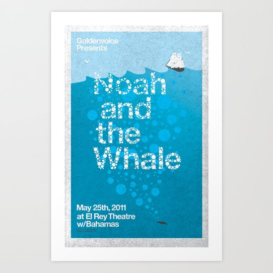 Noah and The Whale Art Print