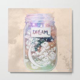 Dream Jar Metal Print