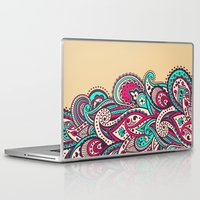 paisley Laptop & iPad Skins featuring Paisley by Cultivate Bohemia