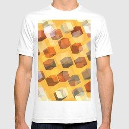 transparent cubes T-shirt