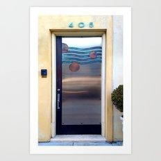 405 Sea Door Art Print
