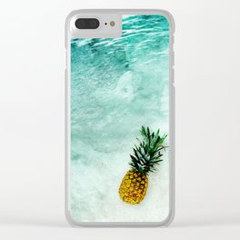 Alone in the Light Clear iPhone Case