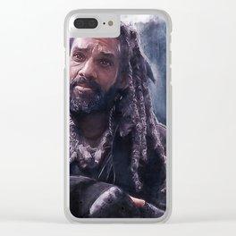 King Ezekiel (the walking dead) Clear iPhone Case