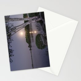 Niles Pond Moon Rise Stationery Cards
