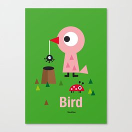 Mr. Bird Canvas Print