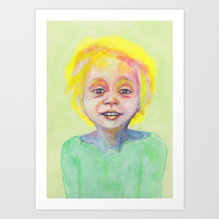 Les petites filles I.9 Art Print