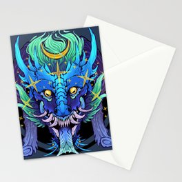 Stellar Dragon Stationery Cards