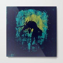 Forest Monster Metal Print