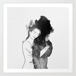 Sweet surrender. Art Print