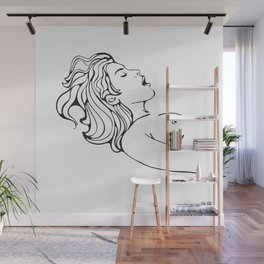 Make her scream Wall Mural