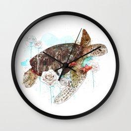 Tortuga Wall Clock