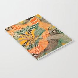 hypnotic color wave Notebook