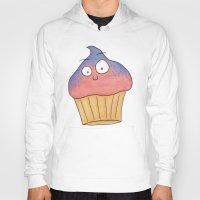cupcake Hoodies featuring Cupcake by Ollie Bright Art