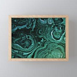 MALACHITE GREEN Framed Mini Art Print
