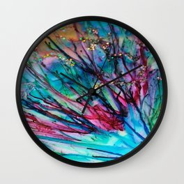 the spray Wall Clock