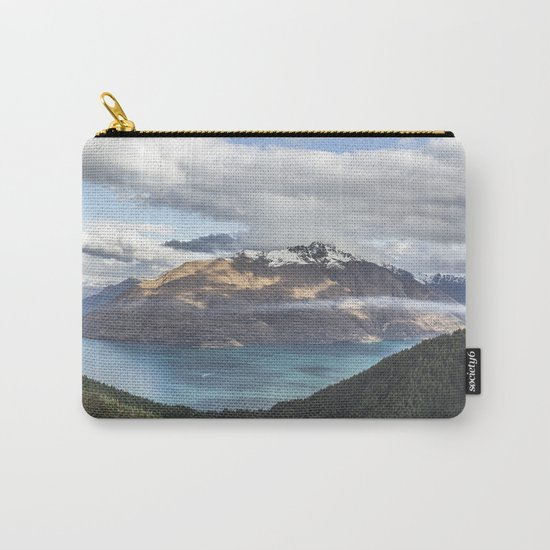 Mountains & Blue water Carry-All Pouch