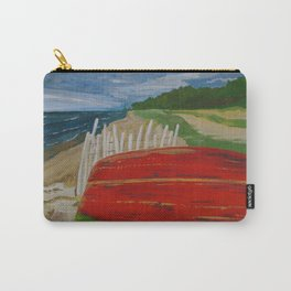Red Bottom Boat Carry-All Pouch