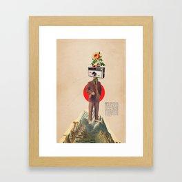 InstaMemory Framed Art Print