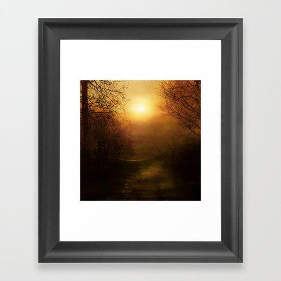 April Ethereal Framed Art Print