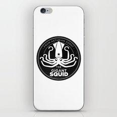 Gigant Squid iPhone & iPod Skin