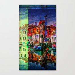 Burano, Venedig Italy Canvas Print