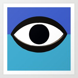 BIG BROTHER IS WATCHING YOU Art Print