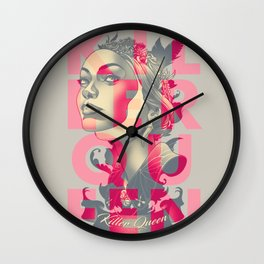 KILLER QUEEN ALT Wall Clock