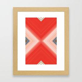 Uncaped Crusader Framed Art Print