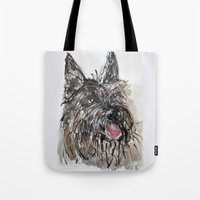 picard Tote Bags featuring Berger Picard by Macknifique