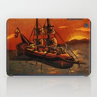 voyage iPad Cases featuring Voyage by Craig Holland Illustration