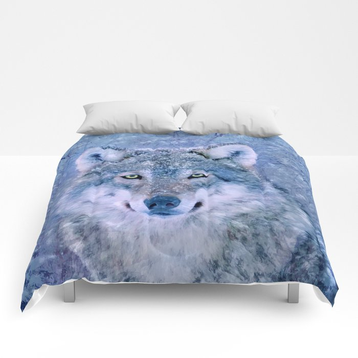Winter Wolf Comforters